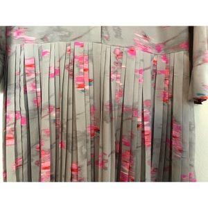 Banana Republic Dresses - Banana Republic Ikat Pleated Shirtdress
